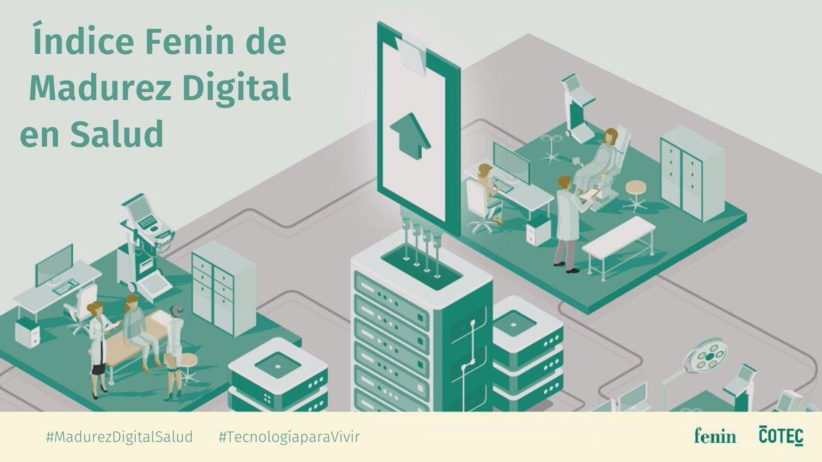 Mañana presentaremos a los medios de comunicación los resultados del Índice de Madurez Digital de los 17 Servicios de Salud autonómicos de nuestro país junto a @Cotec_Innova #MadurezDigitalSalud #eHealth #SaludDigital #transformaciondigital https://t.co/8jNHiSOh8S