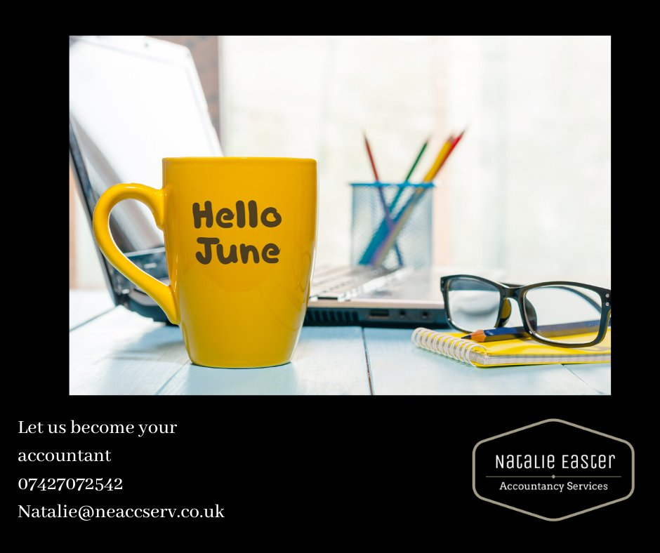 Hello June! Here already! Does anyone else think this year is going far to fast? #june #6months #2020 #lockdown #accountant #accountancy #tax #taxrelief #taxreturn #paye #payrollservices #payroll #furlough #coronavirus #selfemployed #local #supportlocal #newburn #newcastlepic.twitter.com/imlUn9ywzl