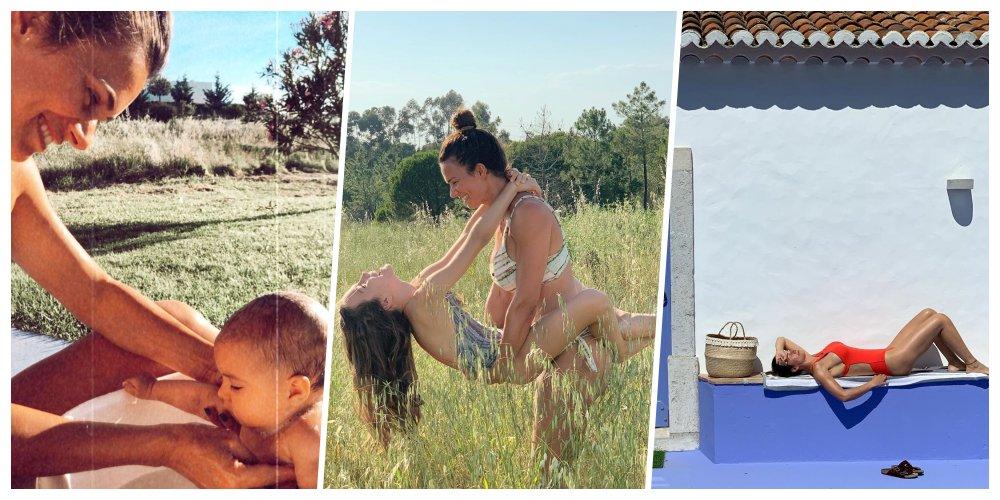 """O  - """"A sentir o ar bom e sereno do #Alentejo"""", comentou Cláudia Vieira ao passar uns dias no #Alentejo -  #AlentejoLitoral #ClaudiaVieira #Grandola #Informatica #Lifestyle #Melides #Odigitalpt #Travel #Turismo"""