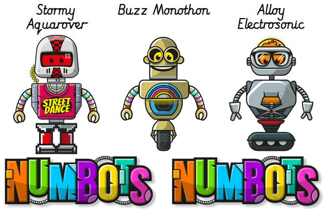 Well done to our Year 2, 3 & 4 @Numbots top scorers since Easter! Lots of you have been working really hard to help Rusty! Y2: Stormy Aquarover, Alloy Electrosonic & Buzz Monothon LKS2: Candy Stelleroid, Midnight Velocitystar & JOE Number-101 pic.twitter.com/v1112KqGJg