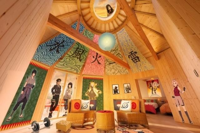 「NARUTO」火影の別荘をイメージした部屋、淡路島のグランピング施設にオープン