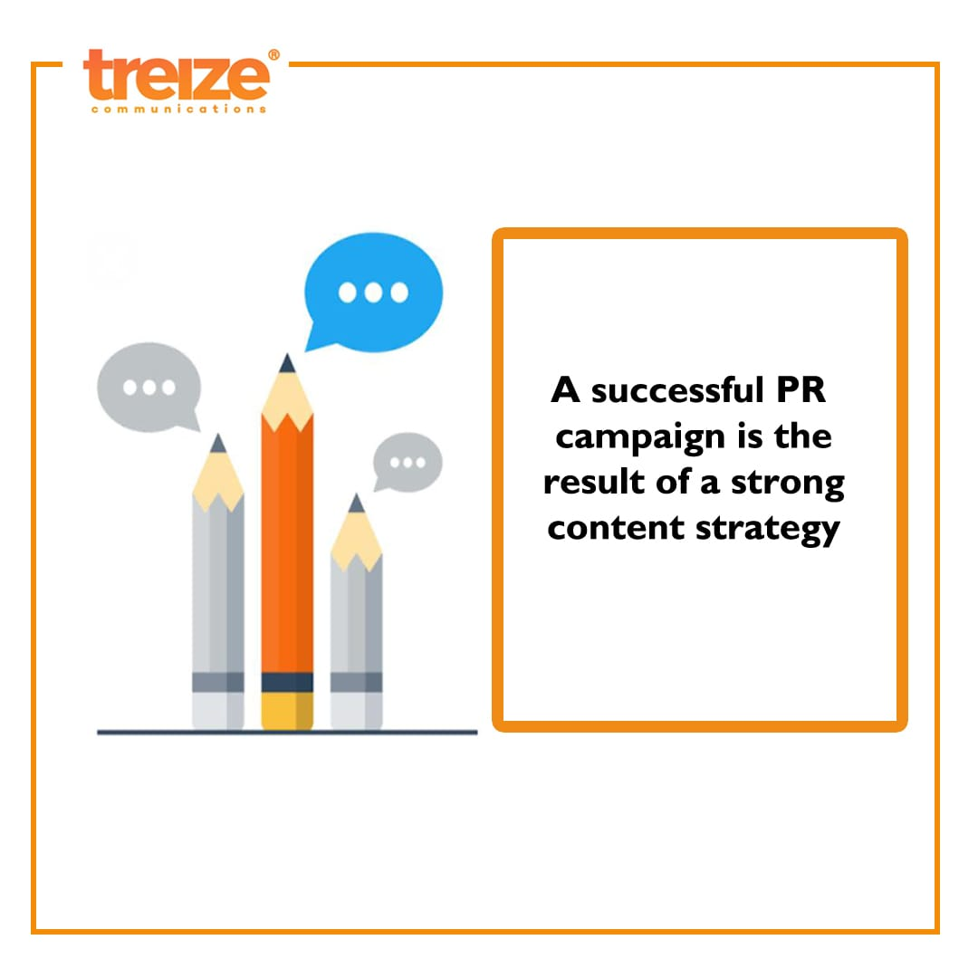 In order to make a PR campaign successful it is necessary to create a good content strategy #PR #Content #PublicRelations #Lockdown #Covid_19 #Quarantine #TreizePR #Marketing #Quotes #Entrepreneur #WomenEntrepreneurs #Motivation #Campaign #Startup #Monday #Thoughts #Strategy