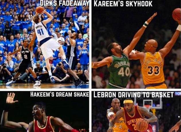 外媒評NBA球星4大無解絕技,並發問:哪個最難防守?詹姆斯一神技入選!