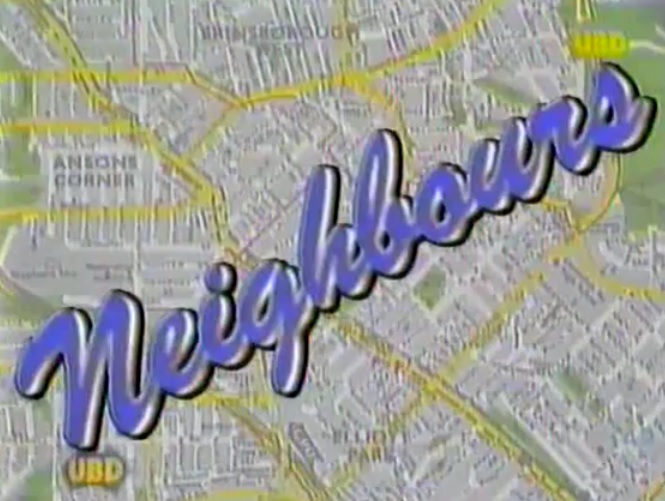 When you see this #Neighbours #80s logo, which character/scene does it remind you the most of? pic.twitter.com/tYs4Ywn4lr