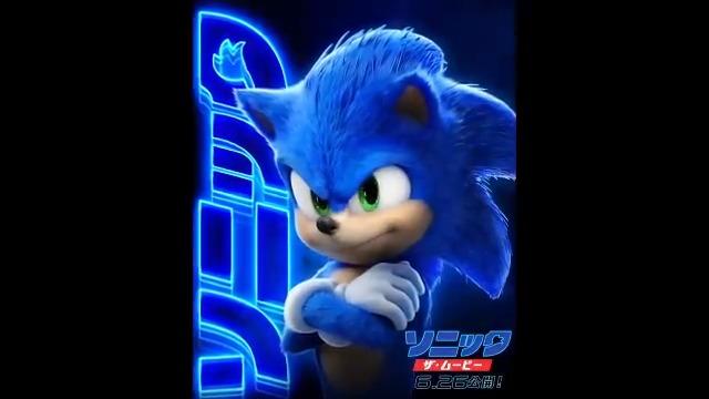 Image for the Tweet beginning: 映画『ソニック・ザ・ムービー』が6月26日に公開決定🎥 これに合わせて、モーションポスターも公開!!  全米ではゲーム原作映画史上最高の興行収入記録を樹立し、さらに全世界では興行収入3週連続No.1を記録する話題作!  公開をお楽しみに🦔💨💨    #映画ソニック  #SonicMovie