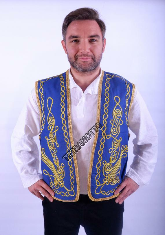 #ETSY #culture #special #gift #exotic #Vıntage #Desıng #ottomon #theater #dancer #vest