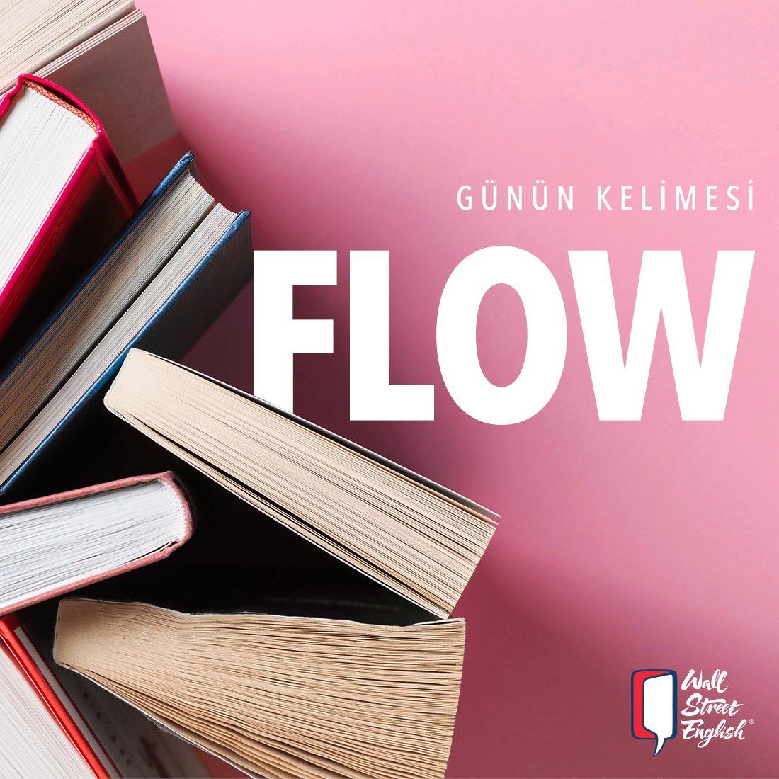 Günün Kelimesi: Flow! Akmak, akış anlamına gelen bu kelimeyi cümle içinde kullanabilir misin? Sen de yorumlarda cümleni yaz, yaratıcılığını herkes görsün! #staysafe  #learnenglish #quarantine#studyenglish #wordpic.twitter.com/05hYivxw7w