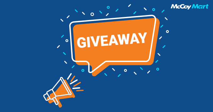 It's #giveaway time! We've launched a cool brand video & need your help in spreading the word. 1 winner will be announced every Friday! Click the link to learn more about the official rules.  https:// bit.ly/2MfDPnV       #GiveawayAlert #McCoyMartGiveaway<br>http://pic.twitter.com/hmHLn06SBg