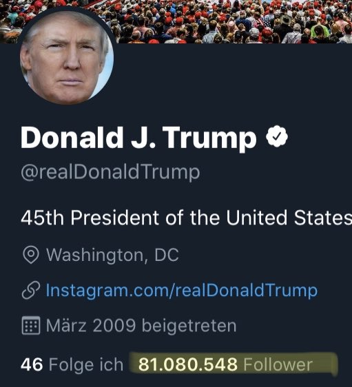 That's the real reason he doesn't like @Twitter  #Follower #POTUSpic.twitter.com/KWg8kXi7Yb