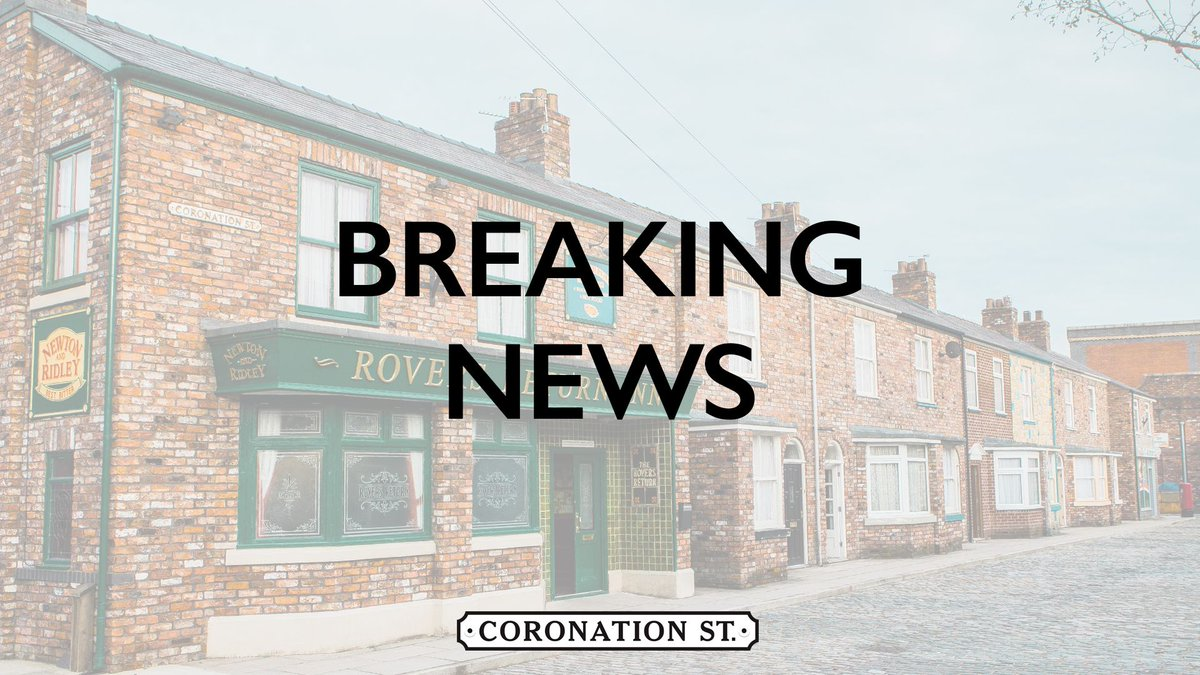BREAKING NEWS: Coronation Street is to recommence filming from Tuesday 9th June. Find out more: https://bit.ly/36K2NFE  #Corrie #CoronationStreet #News #Exclusive @itv @WeAreSTVpic.twitter.com/YlvQZH1Bvc