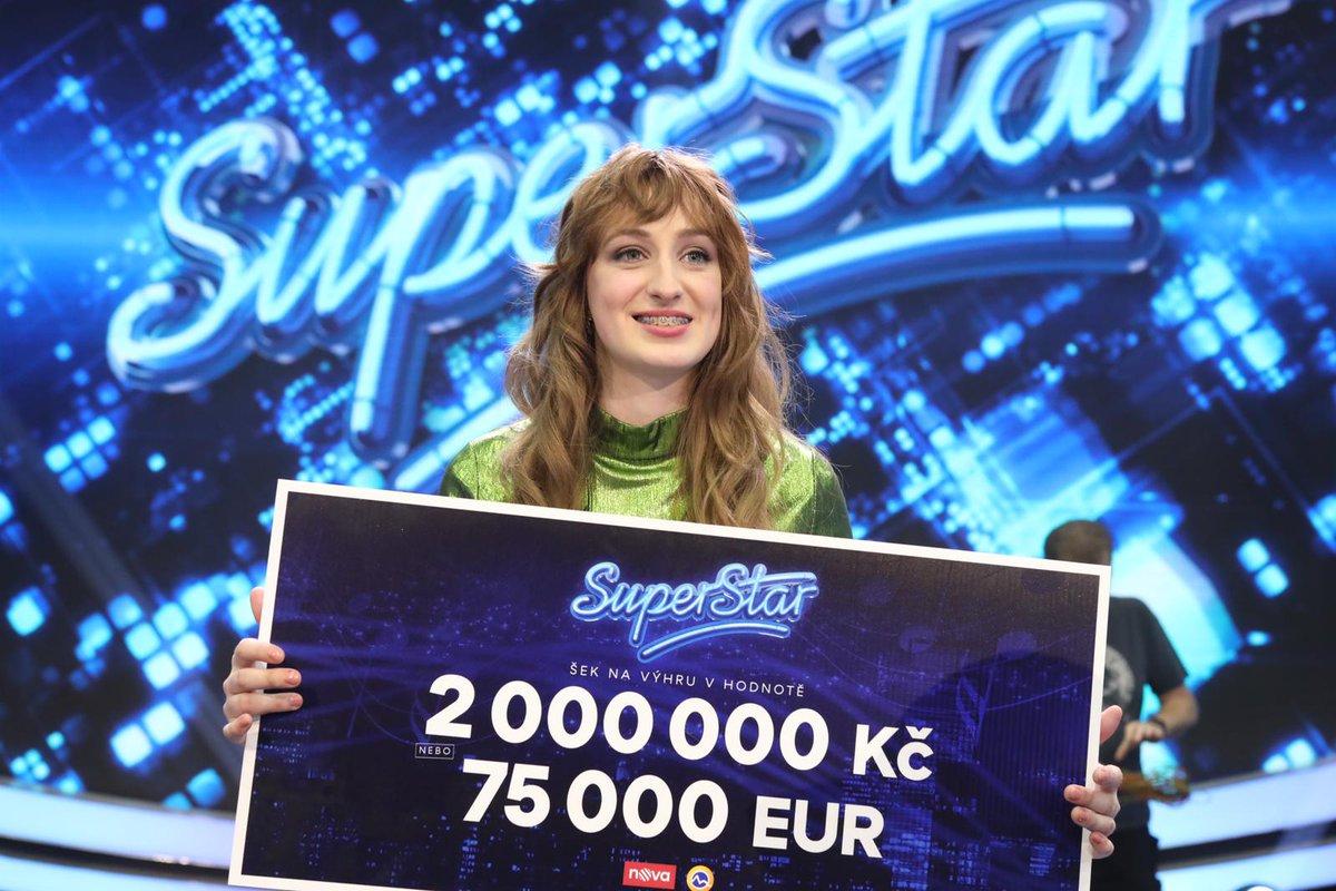 Absolútna víťazka tohtoročnej SuperStar 💙🔝🤗 Gratulujeme, Barbora 👏🏻😍 https://t.co/TtUS3rEW9y #tvmarkiza #superstarcs #barborapiesova #vitaz #vitazka #superfinale #superstar #finale https://t.co/NswcPHun0H