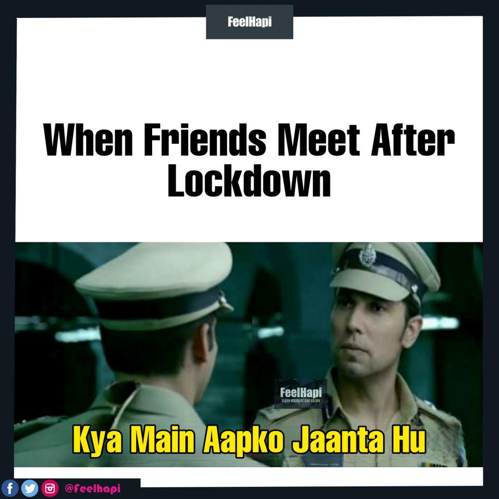Tag Your Best Friends  . #indialockdown #lockdown  #feelhapi #friendship #BFF #stayathomemom #sanitizer #masks #coronavirus #coronavirusmeme #memes #love #ready #salmankhan #covid19pic.twitter.com/l38L5kOAFd