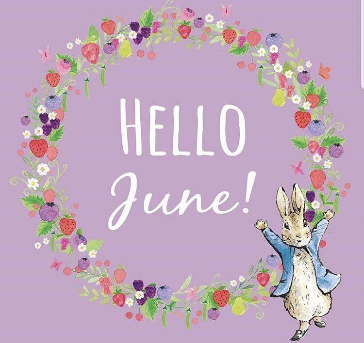 Hello 👋 June 🌸🌺🌼☀️ #june #summer #hellojune #halfwaythroughtheyear #flowers #sun #sea #sunshine #pinchpunchfirstofthemonth