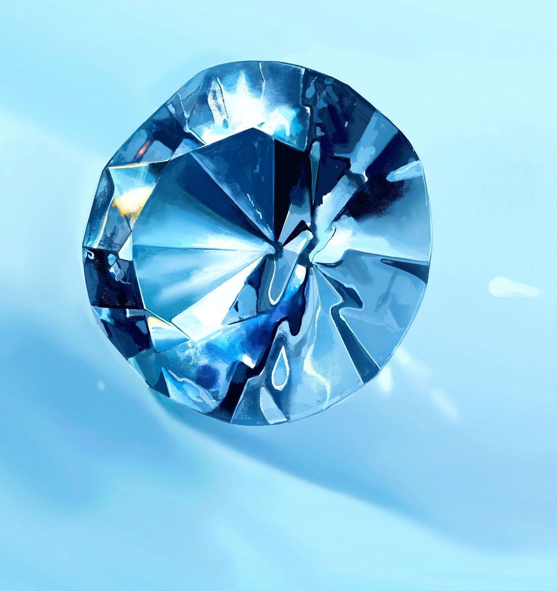 描いた宝石と撮った宝石