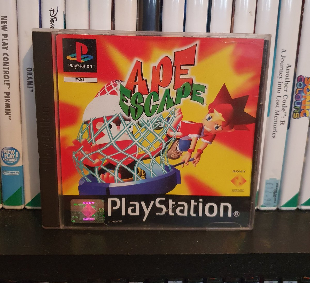 Its #PS1day and today I'm showing off Ape escape  One series that definitely deserves to make a return either this or next gen. Who else loves these games? https://t.co/3SaDZ46sRK