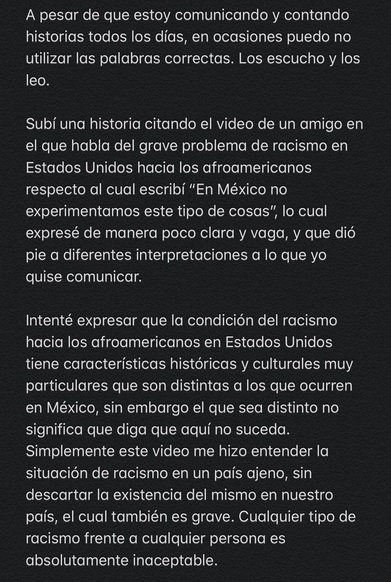 Replying to @JuanpaZurita: Mi mensaje respecto a mi reciente publicación.