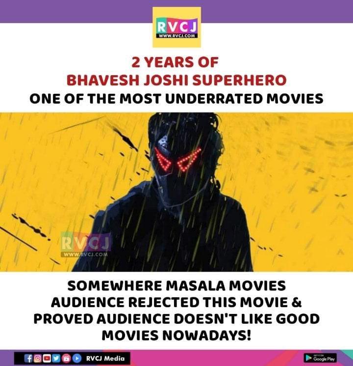 2 Years of Bhavesh Joshi Superhero! @HarshKapoor_ #harshvardhan #bollywood #rvcjmovies pic.twitter.com/5B8gEh2A6p