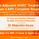 Image for the Tweet beginning: Join @CombatCancer #HIVEC and Dr