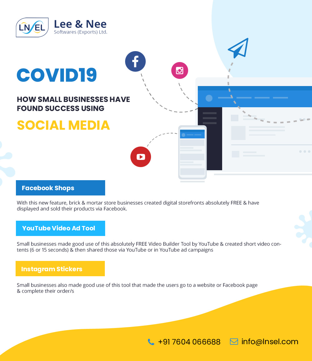With almost the whole consumer fraternity being online during COVID19, small businesses have derived immense benefits from social media have made use of the various tools available at their disposal. #FacebookShop #SocialMediaMarketing #ConsumerTrends pic.twitter.com/88SStBIU21