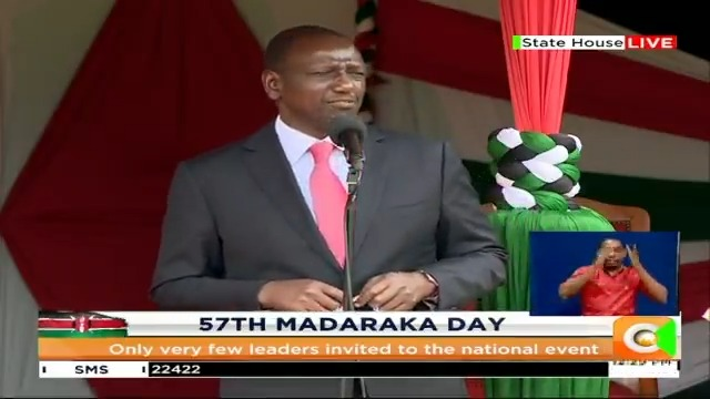 D.P. William Ruto: No government has experienced the kind of challenge COVID-19 has caused to our country. Every Kenyan is now part of the big army to deal with COVID-19. This pandemic has made everyone realize our inadequacy and what God can do #MadarakaDay