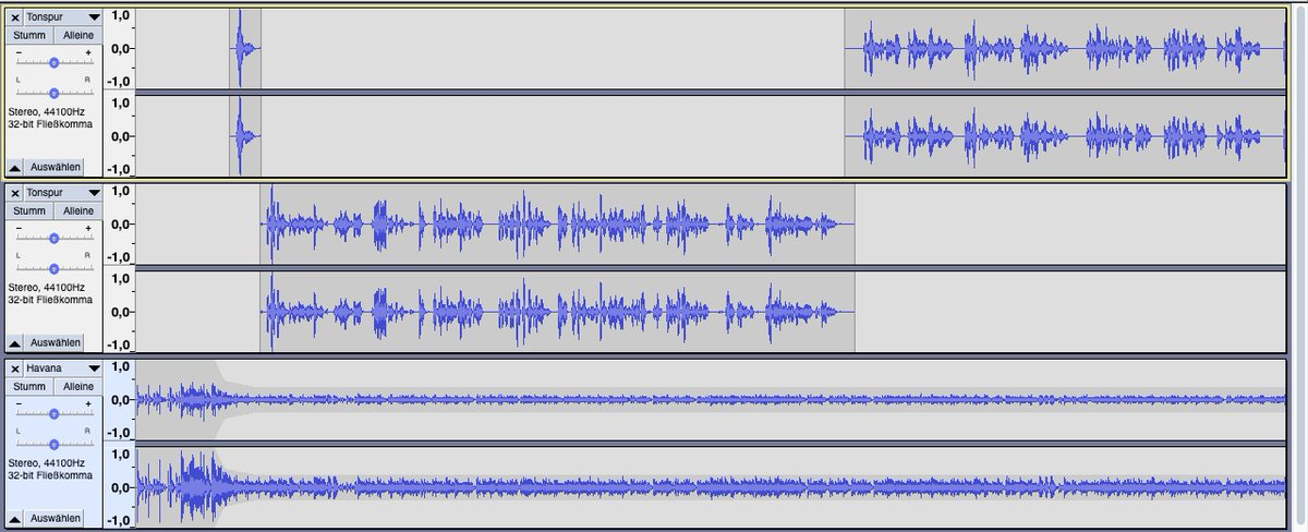 #Audacity für Einsteiger: Online die ersten Schritte mit dem Audioeditor machen. Kostenloses reinschnuppern ist möglich. #Podcasting #audiobeiträge https://www.audiobeitraege.de/audacity-fuer-einsteiger/…pic.twitter.com/JT3T5BmBbD