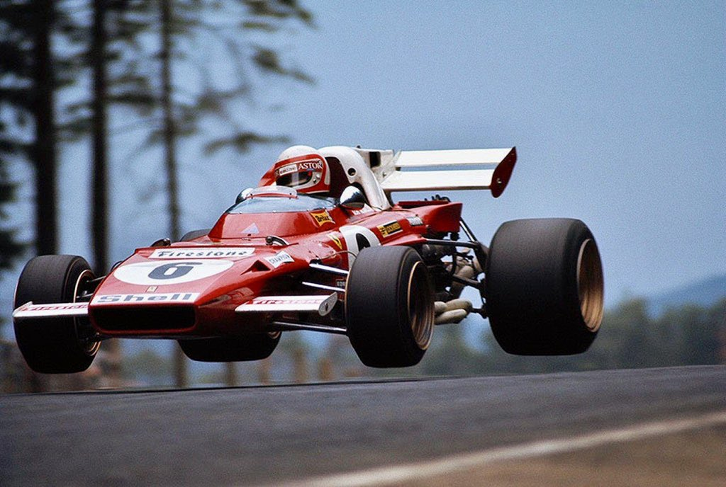 Clay Regazzoni🇨🇭 Ferrari 312B 🇮🇹 Nurburgring 1971🇩🇪🏁 #Ferrari #ClayRegazzoni #F1  @LienhardRacing  @FAFBulldog @nzo125547  @PFSClassics  @vividcloudofwat @jim_knipe  @officialenzari  @ItaliAuto @JJlemans37 @Digione_79 @DriveHaard @pjlm2 @RSF_Motorsport @Rinoire @bourdyot_ https://t.co/TRdgk84skd