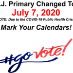 Image for the Tweet beginning: The NJ Primary date has