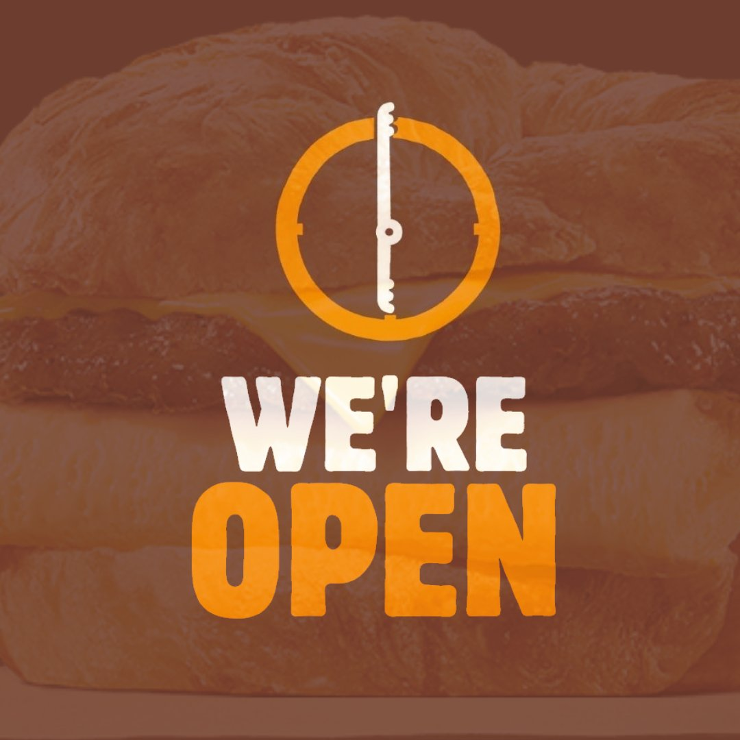Rise and shine to great taste. We're open. #carryout #drivethru #kravendeliverypic.twitter.com/GN1y4ntrOo