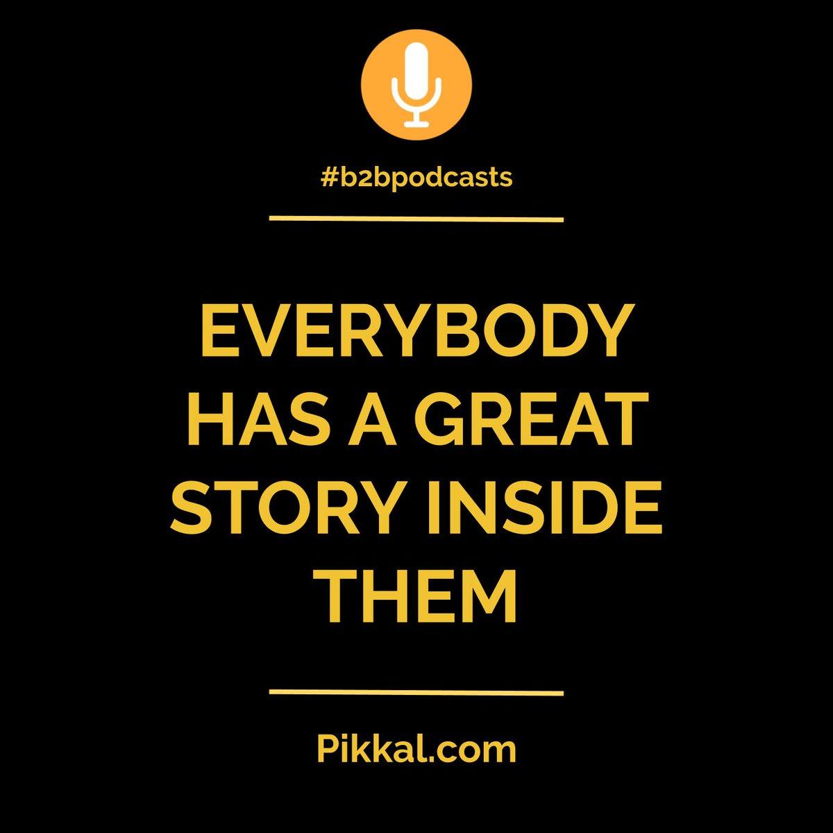 Monday Podcast Insight Jun 1, 2020 #b2bpodcasts #podcasting #leadership #storytellingpic.twitter.com/95PuFhVEjg
