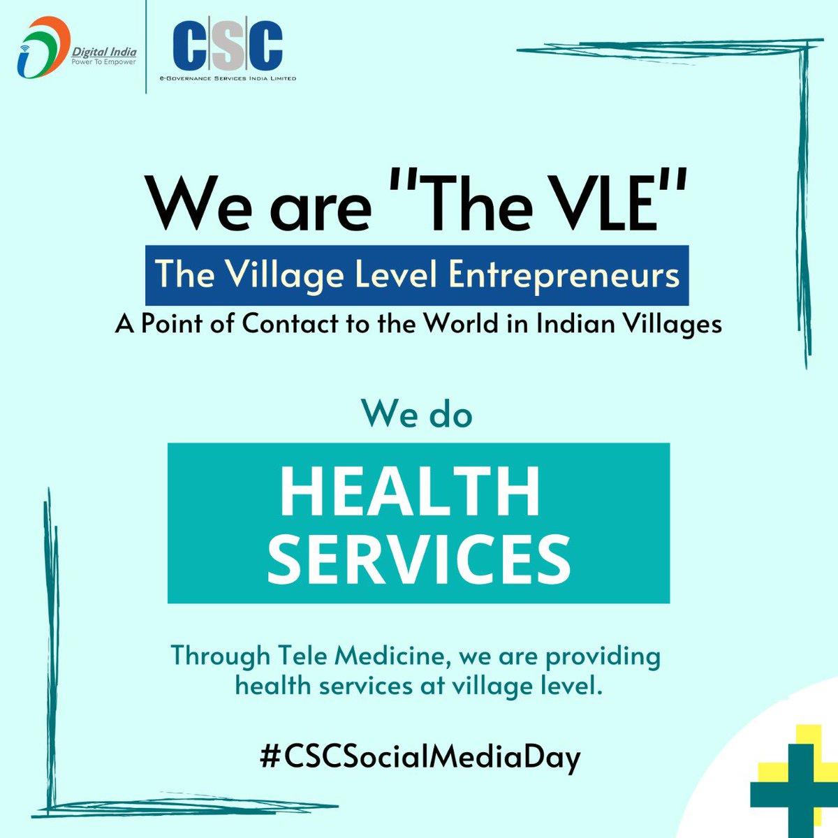 Every CSC is a digital doctor #CSCSocialMediaDay