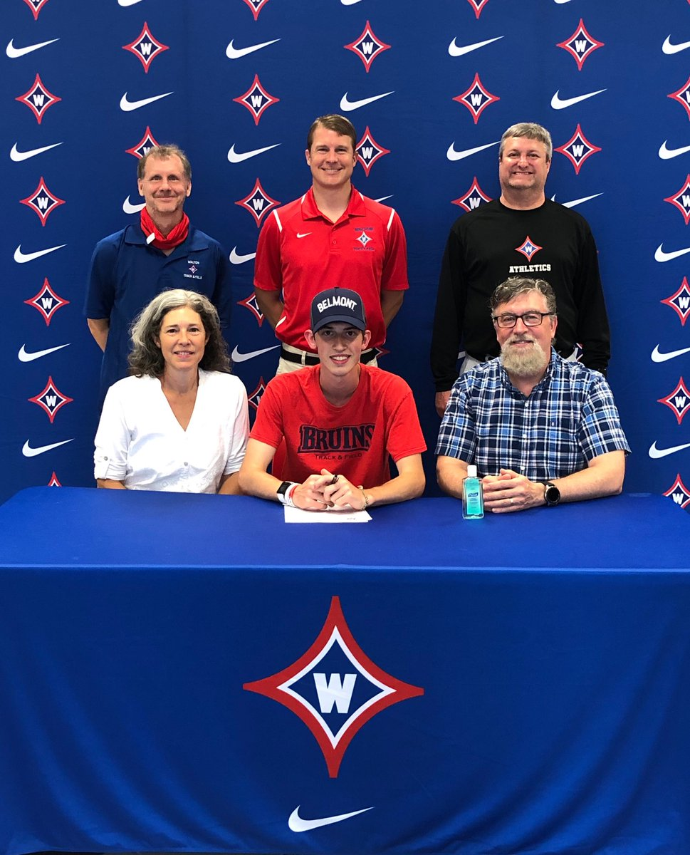 Congrats to distance runner Zac Shaffer on his recent signing with Belmont University. Go Raiders and Go Bruins!