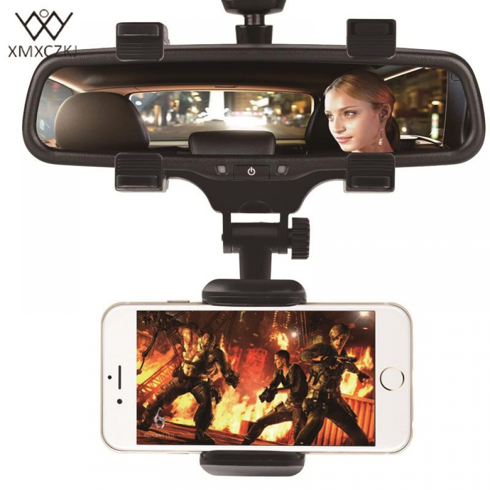 #technology #tech #Electronics XMXCZKJ 360 Degrees UniversalCar Rearview Mirror Mount Phone Holder For Smartphone pic.twitter.com/t3T2VK29fe