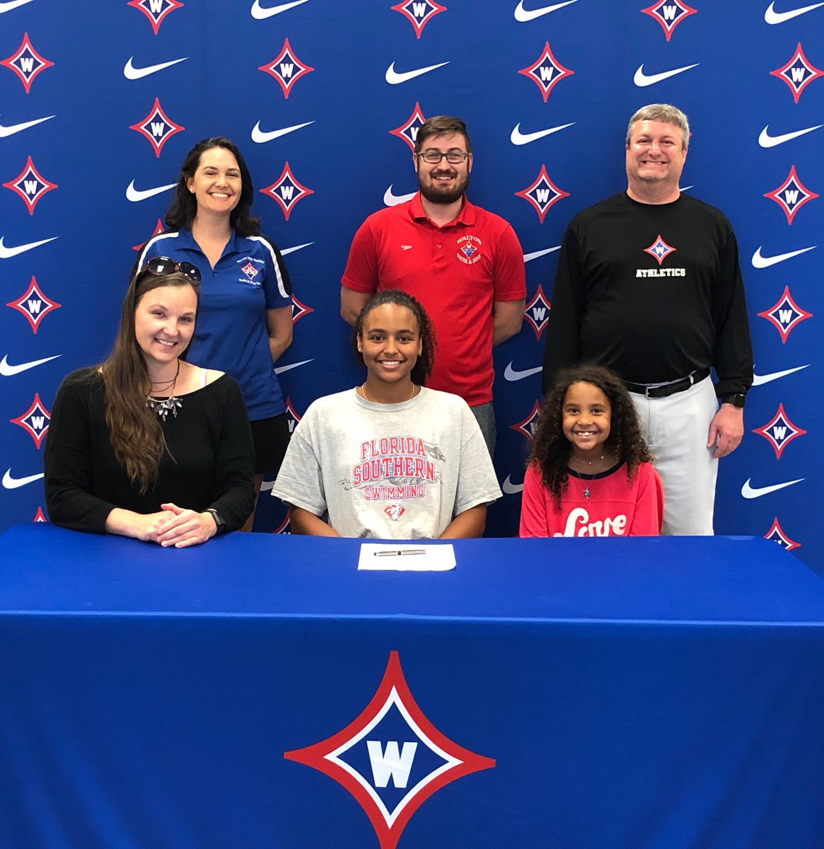 Congrats to swimmer Jazzy Hoffman on her recent signing with Florida Southern. Go Raiders and Go Mocs!