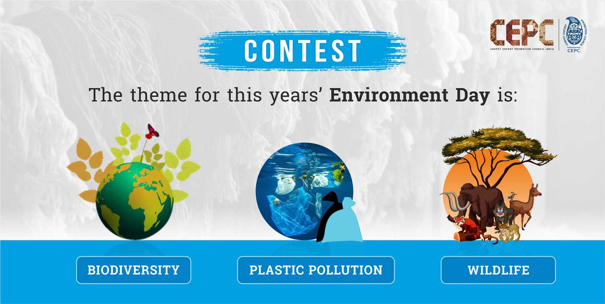 Every year, environment day comes with a new theme, can you guess the theme for this year? Tag 3 nature lovers using the hashtag #LetsSaveItTogether.  T&C: http://tl.gd/n_1sr8r6k  #Contest #ContestAlert #WorldEnvironmentDay #WorldEnvironmentDay2020 #CEPC #EnvironmentDayContestpic.twitter.com/WSGylH7hoz  by Nature's Lovers