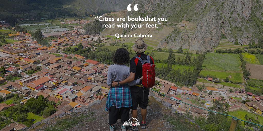 #MotivationMonday #SalkantayTrekking #Ollantaytambo #Pinkuylluna #SalkantayTrek #Travel #VisitPeru #Adventure #TravelQuote #InspirationalQuotes #Cusco #Perupic.twitter.com/Iuj3UzBCOC
