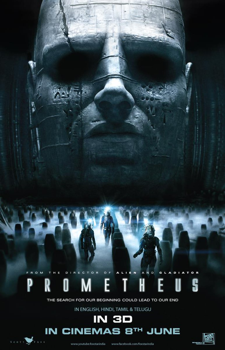 Today marks the 8th anniversary of the general release of devise Prometheus in the United Kingdom. It's US release would follow a week later. #Prometheus #SirRidleyScott #David8 #MichaelFassbender #NoomiRapace #LoganMarshallGreen #IdrisElba #CharlizeTheronpic.twitter.com/DAYgaUymuM