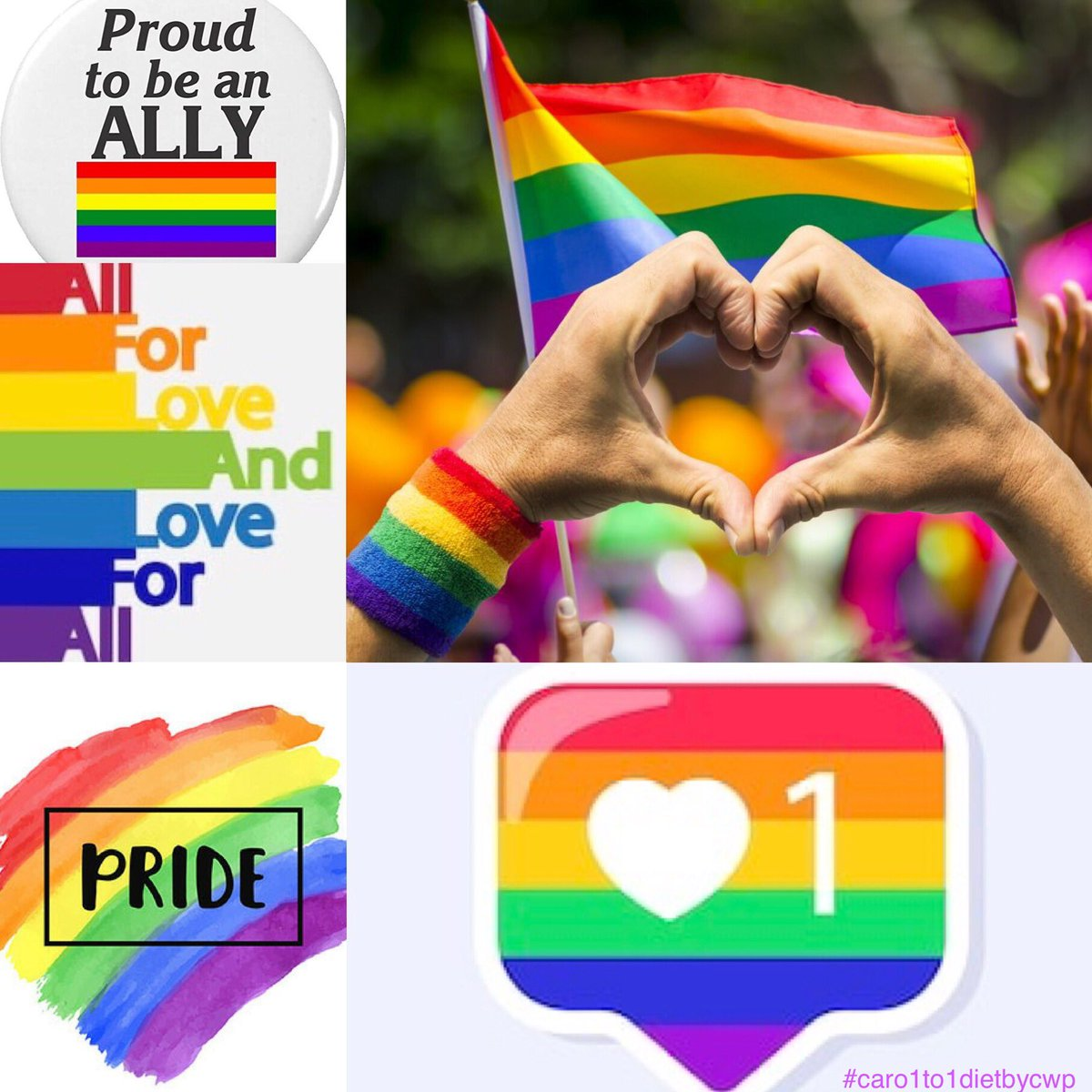 🏳️‍🌈Happy Pride Month!🏳️‍🌈   #loveislove🌈 #pride #june2020 #supportlgbt #proudally #allforlove #loveforall https://t.co/XXLX7q41f0