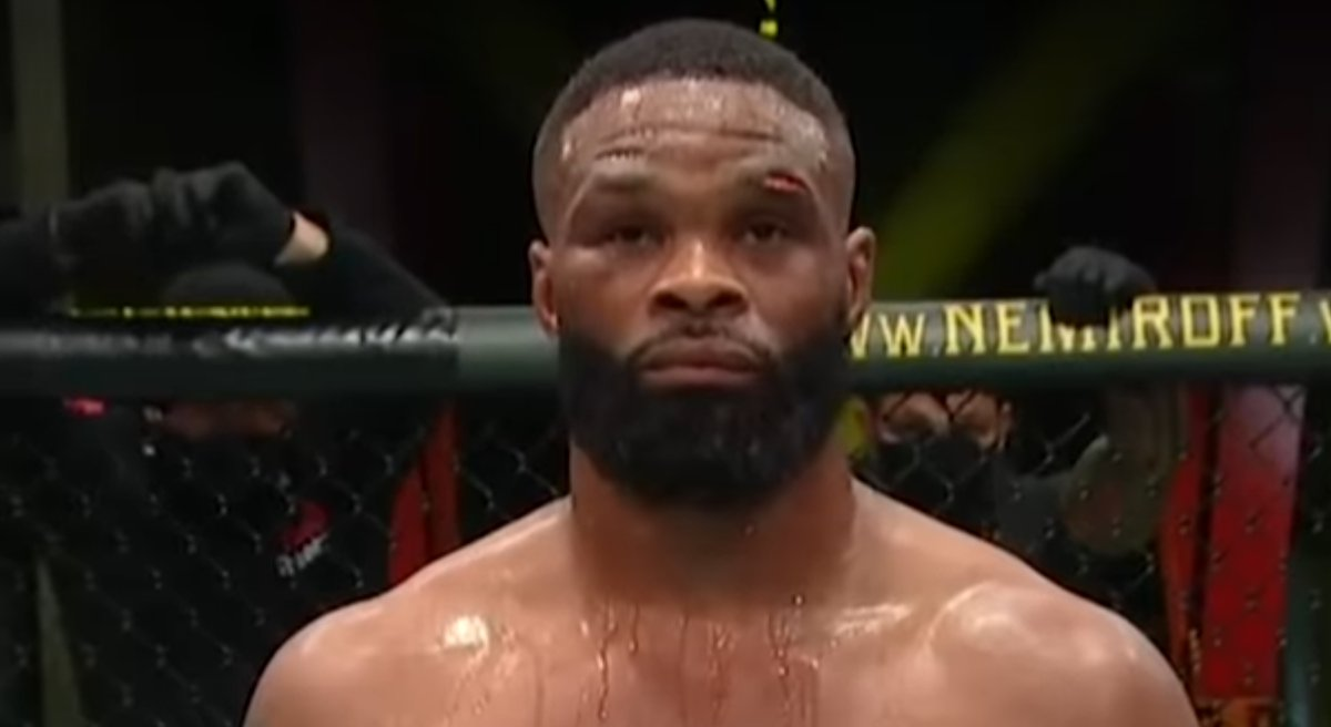 """Tyron Woodley Says He's at """"Peace"""" Following One-Sided Loss, Leon Edwards Takes Poke at Former Champ - https://t.co/WOcNLzScKL #UFC #UFCVegas https://t.co/3ZzxXE1dhQ"""