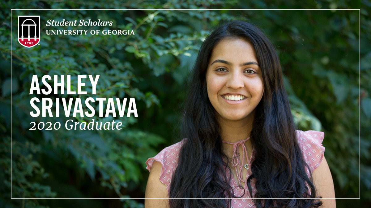 Our final PSO Student Scholar shoutout goes out to Ashley Srivastava, who interned this year with @ugasbdc!  The #UGA20 member recently completed her degree in Management Information Systems from @TerryCollege and is preparing to move to NYC for work! Good luck Ashley! #UGAgrad https://t.co/xoq8JiNwdp
