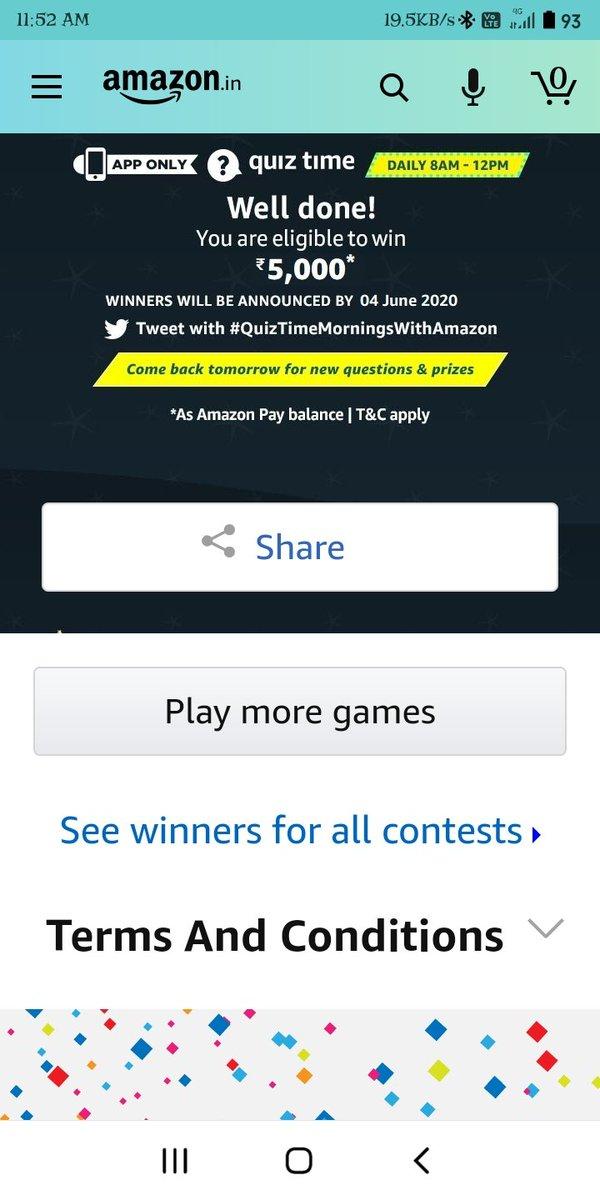 #QuizTimeMorningsWithAmazon pic.twitter.com/pBmqfRUG9y