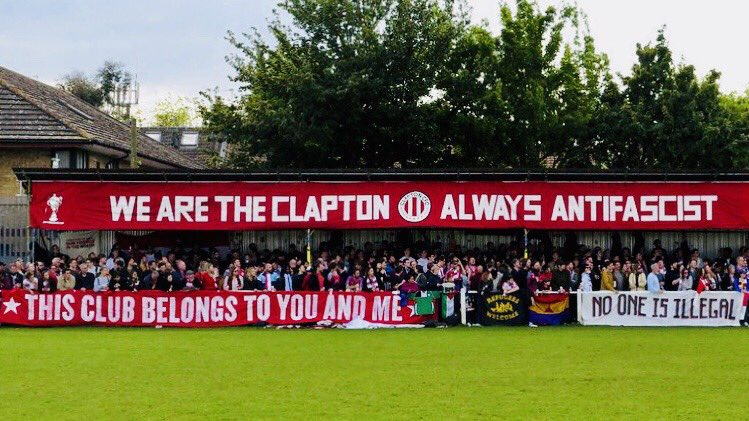 Support your local non-league/terrorist club. https://t.co/KqKxXVMyK7
