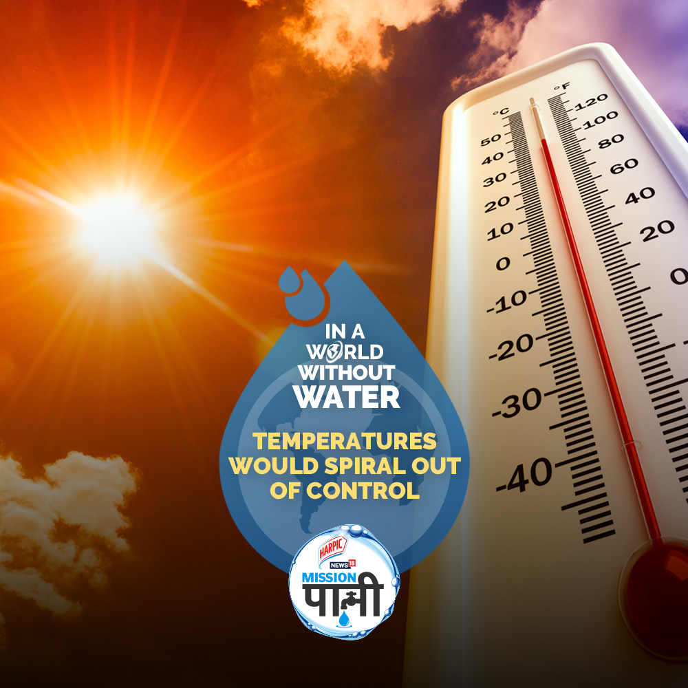 In a #WorldWithoutWater, there will be no order, no system of seasons. What will you do? How will you survive?  To know more, Join @Harpic_India News18 #MissionPaani Log On to