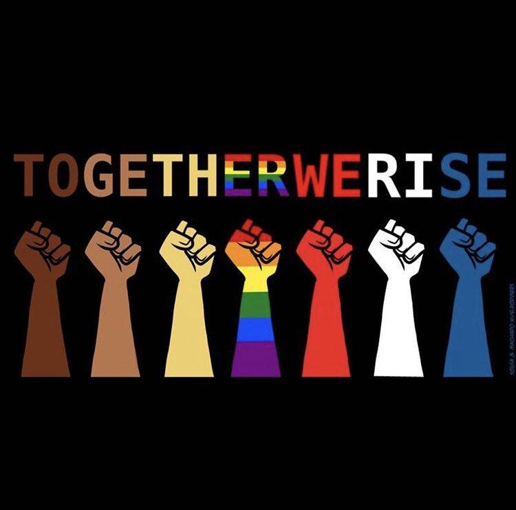 Είμαστε όλοι άνθρωποι,έχουμε όλοι τα ίδια δικαιώματα,είμαστε όλοι ίσιοι άσχετος χρώματος,θρησκείας,σεξουαλικότητας,σωματότυπου και γλώσσας.Κανενας δεν έχεις το δικαίωμα να προσβάλει κάποιον επειδή είναι διαφορετικός,κάτω ο ρατσισμός και η ομοφοβία!!!!!!! #BlackLivesMatter #LGBTQ