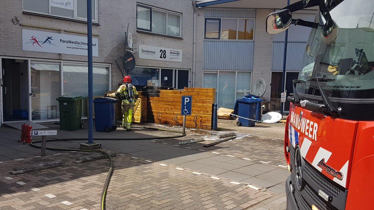Melding brandweer Brandersmolenstraat Molenbuurt