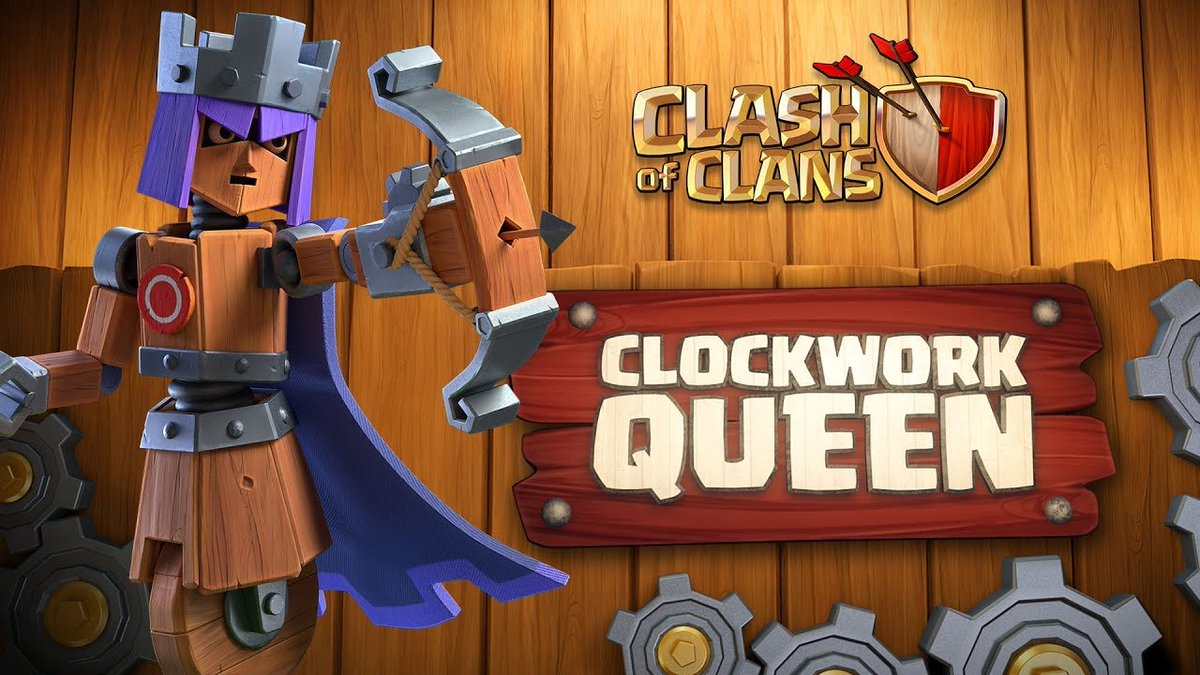 Clash of Clans Clockwork Queen Skin Giveaway! 🎁 2 Gold Passes 🎁 💰U$5 through PayPal💰  To enter: ✔ Follow ✔ Retweet  Bonus (optional): ✔ Subscribe to House of Clashers on YouTube: https://t.co/IbRHvpY9qA  ❗️Results in 2 days❗️ ⚠️ PayPal ONLY ⚠️  #Giveaway #CoC https://t.co/rR0io7GguO