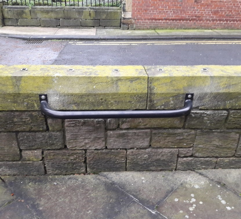 Never waste a wall! Fit a few wall-mounted cycle parking rails. Theyre FREE of charge here: parkthatbike.info