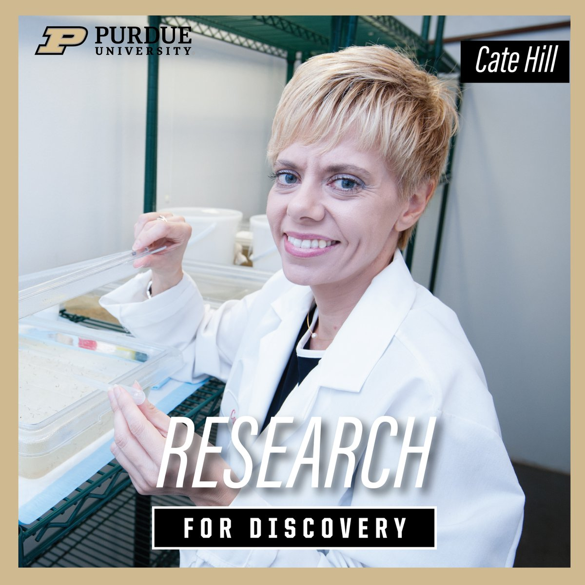 Cate Hill with the Purdue Department of Entomology in the Purdue College of Agriculture is inviting citizen scientists to collect and send in ticks for research on tick-borne diseases in Indiana. ow.ly/ILHM50zQWqJ #TheNextGiantLeap #PurdueDiscovery @PurdueAg
