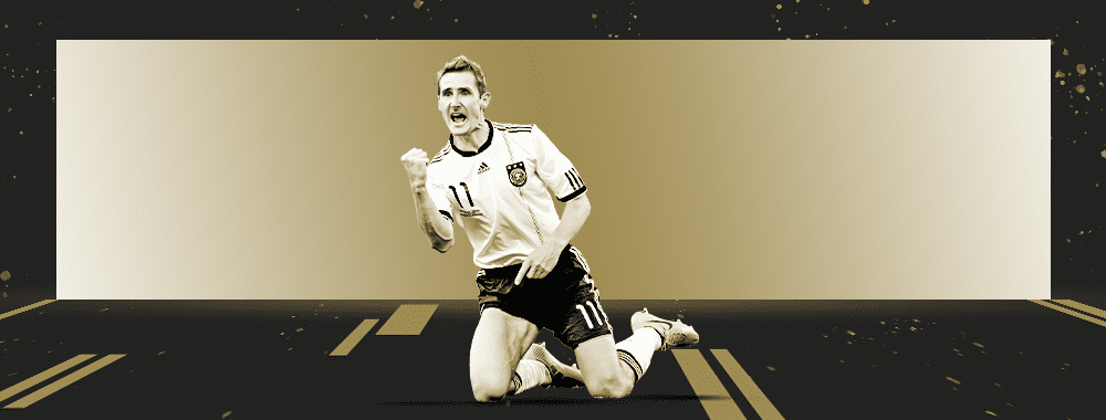 🆕 - #OnThisDay in 2002, Miroslav #Klose made his World Cup debut, scoring a hat-trick for @DFB_Team_EN in a 8-0 versus Saudi Arabia. Salto. Using our database, we analysed the leading World Cup goalscorer for @StatsPerforms Legends Series. ➡️bit.ly/2XjlH30