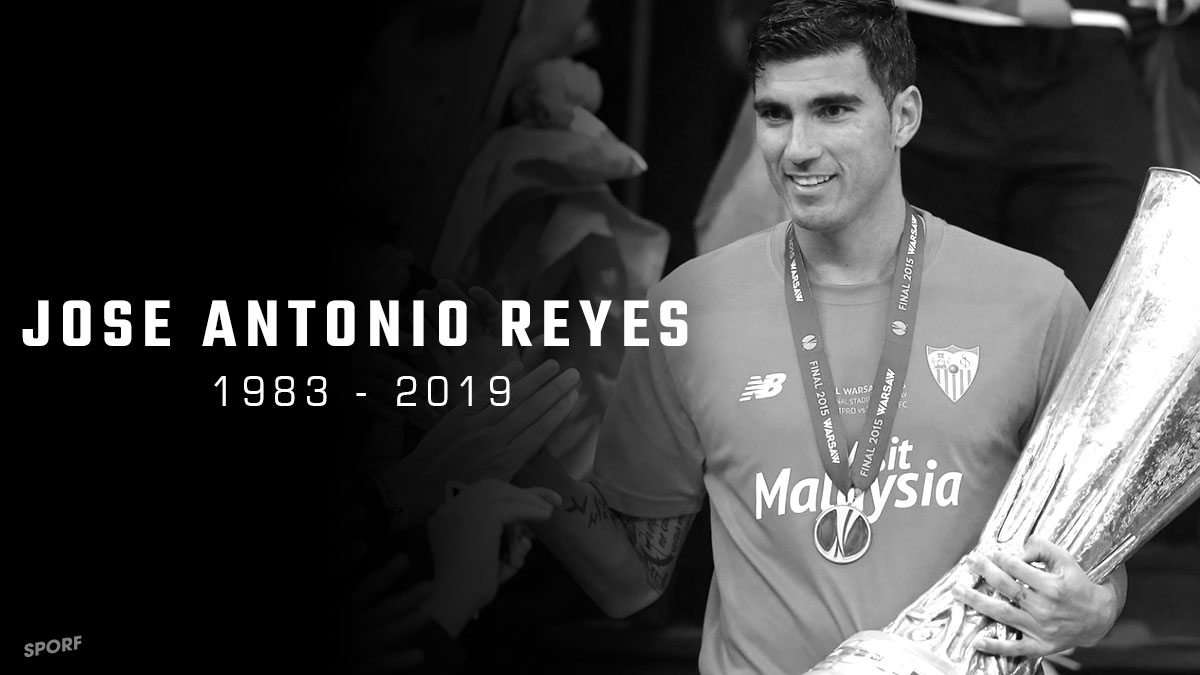 🙏 Remembering Jose Antonio Reyes, who sadly passed away a year ago today.  🌹 RIP. https://t.co/gu6oYSl04e