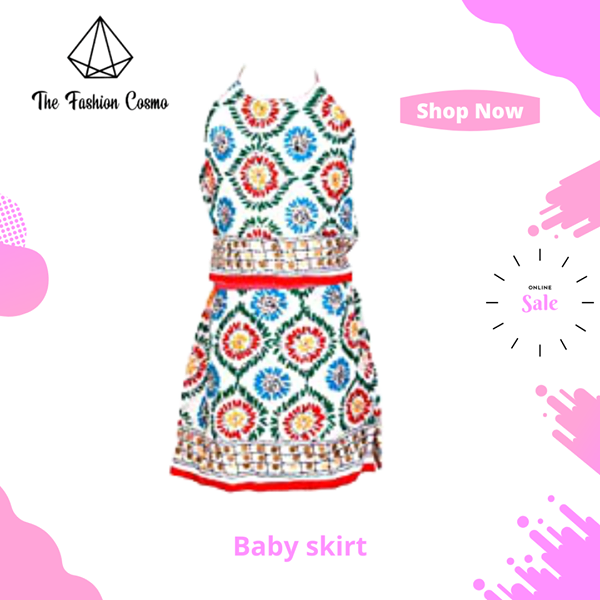 Dress by The Fashion Cosmo- Girls Tank Top & Skirt Set Summer Casual Off White #Fashioncosmo #skirtsetsummer For more information please visit our website. https://www.thefashioncosmo.com  #babyclothes #baby #babygirl #babyfashion #babyboy #kidsfashion #handmade #babyshower #kidspic.twitter.com/q1uy7p04wl